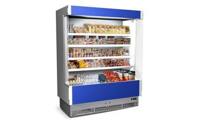 Wall display fridges