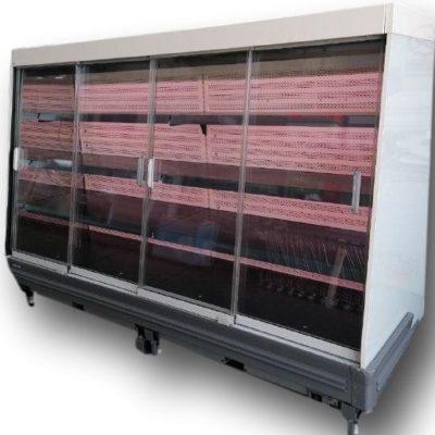 Wall display fridges